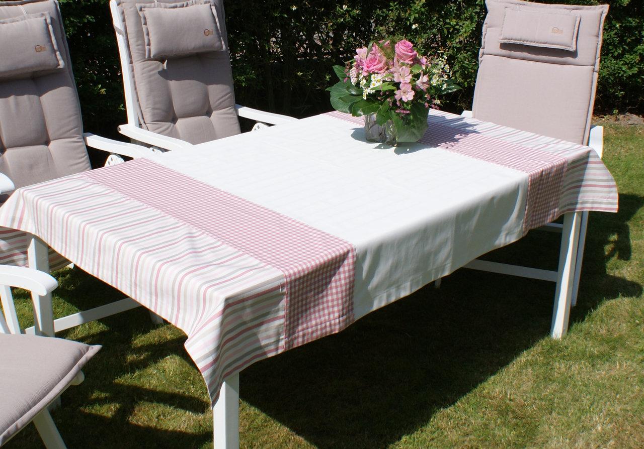tischdecken im landhausstil hochwertiger qualit t. Black Bedroom Furniture Sets. Home Design Ideas